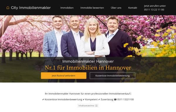 Vorschau von city-immobilienmakler.de, City Immobilienmakler GmbH