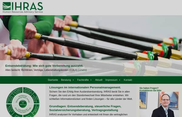 Vorschau von ihras.eu, IHRAS GmbH