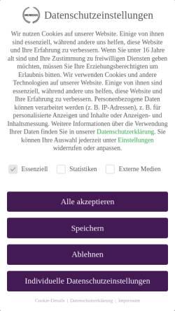 Vorschau der mobilen Webseite monedos.de, MONEDOS