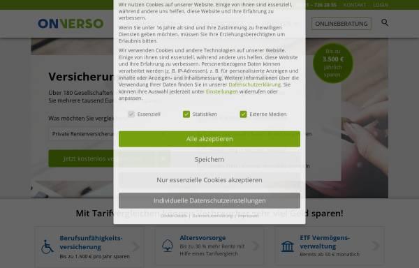 Vorschau von www.onverso.de, ONVERSO