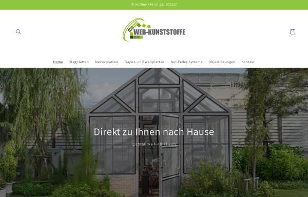 Vorschau von www.webkunststoffe.de, Web Kunststoffe GmbH