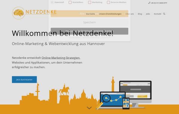 Vorschau von www.netzdenke.de, Netzdenke
