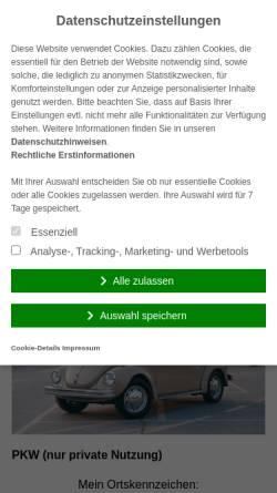Vorschau der mobilen Webseite www.siktas24.de, Versicherungsmakler Siktas24