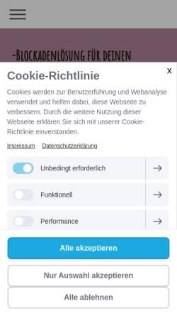 Vorschau der mobilen Webseite www.herzog-hypnose.de, Herzog-Hypnose