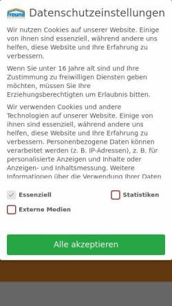 Vorschau der mobilen Webseite freund-bedachung.de, Werner Freund GmbH Dachdeckermeisterbetrieb