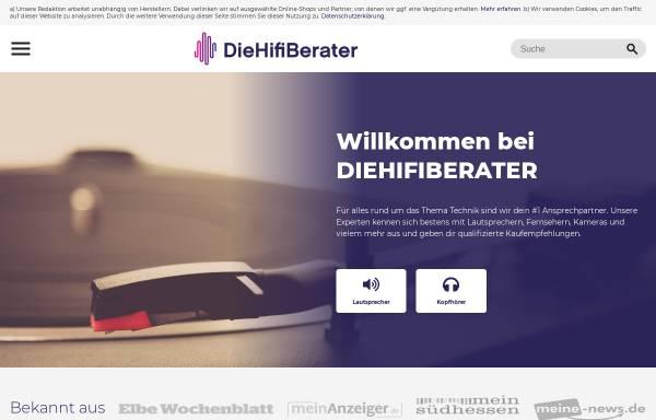 Vorschau von www.diehifiberater.de, Diehifiberater.de