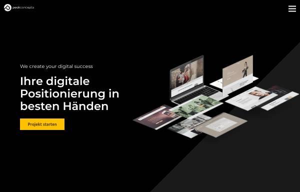 Vorschau von www.peakconcepts.de, Peakconcepts GmbH