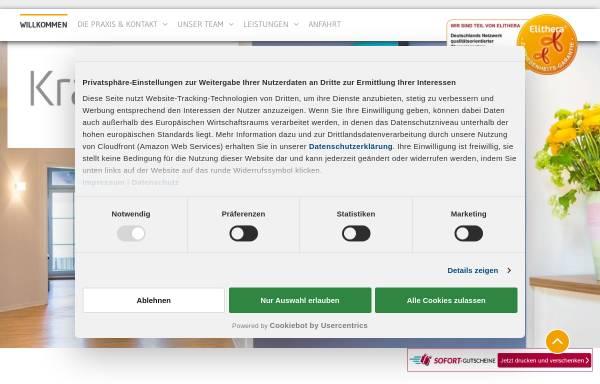 Vorschau von www.kraftort-therapiezentrum.de, Kraftort - Therapiezentrum