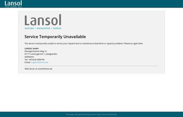 Vorschau von www.scentfullness.de, Scentfullness