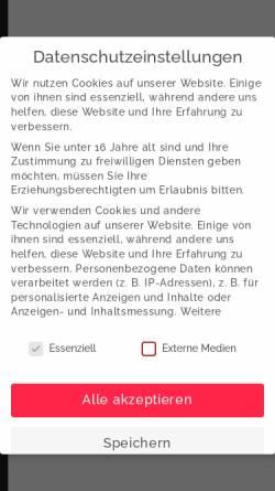 Vorschau der mobilen Webseite senerdesign.de, SenerDesign