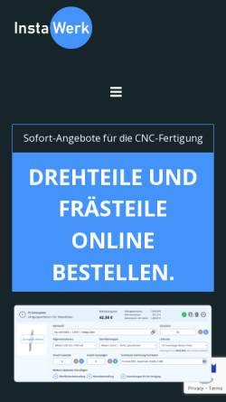Vorschau der mobilen Webseite www.instawerk.de, InstaWerk
