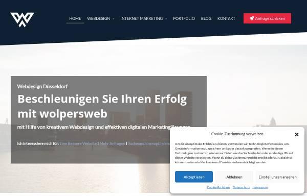 Vorschau von www.wolpersweb.de, wolpersweb