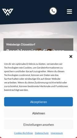 Vorschau der mobilen Webseite www.wolpersweb.de, wolpersweb