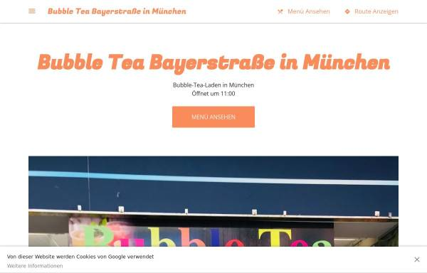 Vorschau von bubble-tea-bayer.business.site, Bubble Tea