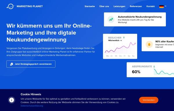 Vorschau von marketing-planet.de, Marketing Planet UG (haftungsbeschränkt)