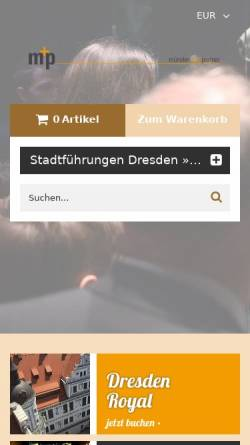 Vorschau der mobilen Webseite www.muenster-partner.com, Münster und Partner