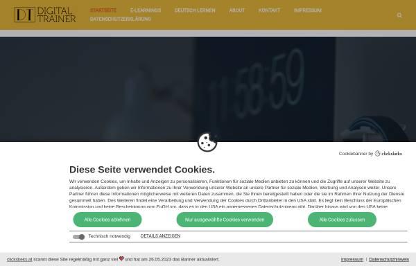 Vorschau von digital-trainer.org, Digital Trainer Andreas Lieb