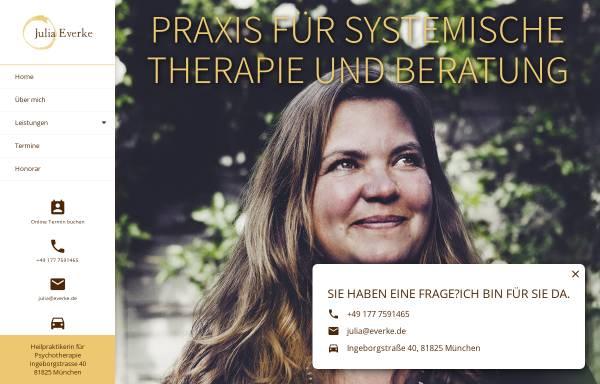 Vorschau von www.juliaeverke.de, Julia Everke