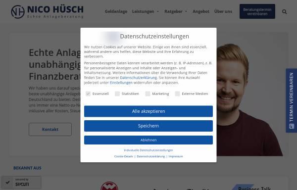 Vorschau von nicohuesch.de, Nico Hüsch GmbH