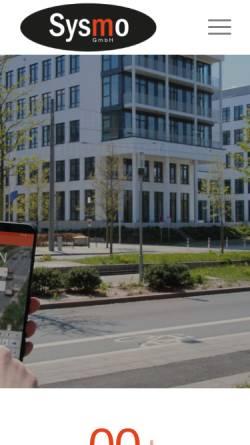 Vorschau der mobilen Webseite sysmo-gmbh.de, Sysmo GmbH