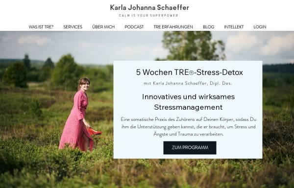 Vorschau von www.karlajohannaschaeffer.com, Karla Johanna Schaeffer