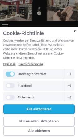 Vorschau der mobilen Webseite www.trueffelhang.at, Trueffelhang.at
