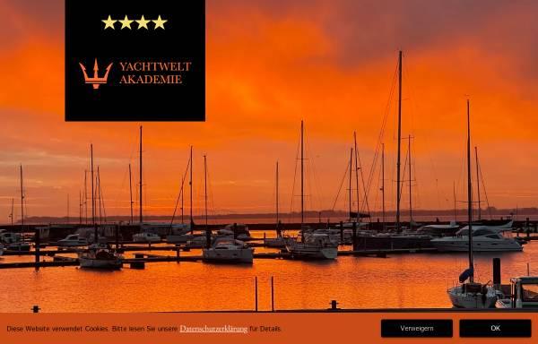 Vorschau von www.yachtwelt-akademie.de, Yachtwelt Akademie