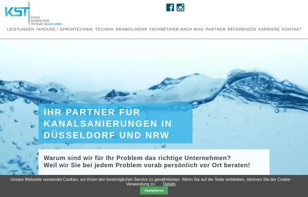 Vorschau von www.kanalsanierung-in-duesseldorf.de, Kanal-Sanierungs-Technik Hicker GmbH