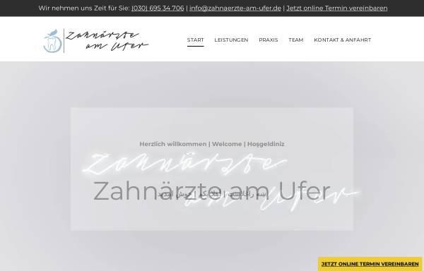 Vorschau von www.zahnaerzte-am-ufer.de, Zahnärzte am Ufer - Praxis Dr. med. dent. Bamdad Sarwghad