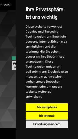 Vorschau der mobilen Webseite www.filmschere.de, Filmschere Videoproduktion
