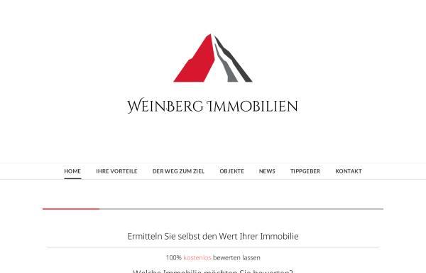 Vorschau von www.weinbergimmobilien.de, WeinBerg Immobilien