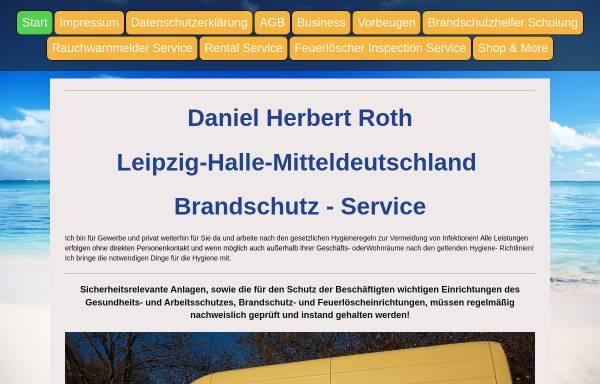 Vorschau von www.brandschutzherbert.de, Brandschutz & Facility Service - Daniel H. Roth