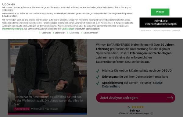 Vorschau von www.datarecovery-datenrettung.de, DATARECOVERY®
