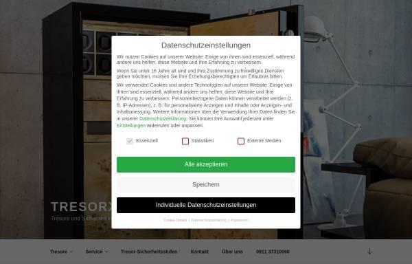 Vorschau von tresor-schutz.de, TresorXperten - Fuchs und Thumann GbR