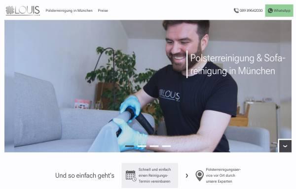 Vorschau von polsterreinigung-louis.de, Louis UG (haftungsbeschränkt)