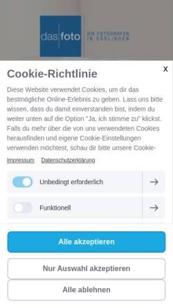 Vorschau der mobilen Webseite www.das-foto-esslingen.de, Das Foto