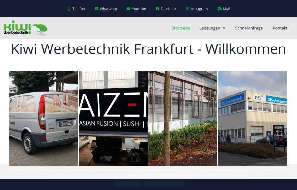 Vorschau von www.kiwi-werbetechnik.de, Kiwi Werbetechnik