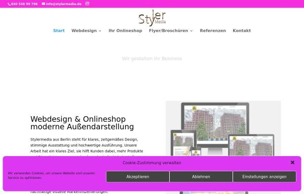 Vorschau von stylermedia.de, StylerMedia