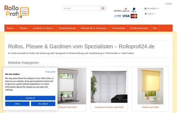 Vorschau von www.rolloprofi.de, Torsten Lang UG (haftungsbeschränkt)