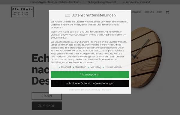 Vorschau von opaerwin.design, OPA ERWIN