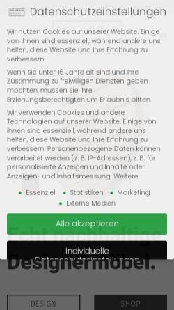 Vorschau der mobilen Webseite opaerwin.design, OPA ERWIN