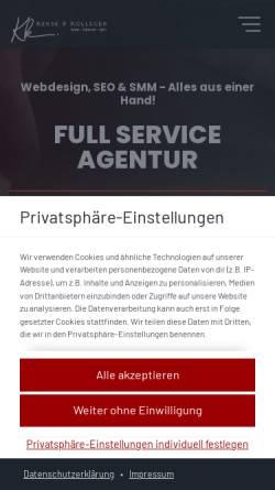 Vorschau der mobilen Webseite kekseundkollegen.de, Kekse & Kollegen