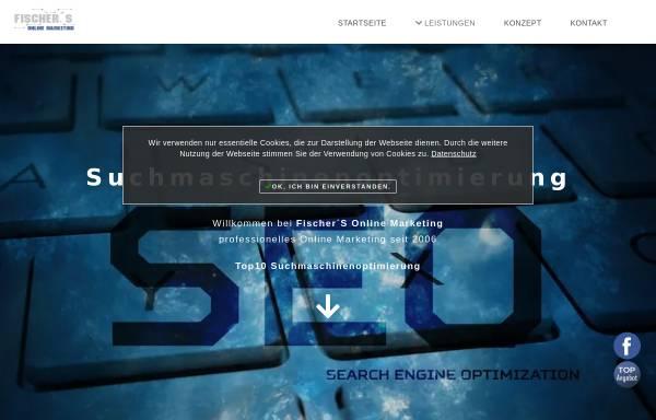 Vorschau von www.fischers-onlinemarketing.org, Fischer´S Online Marketing