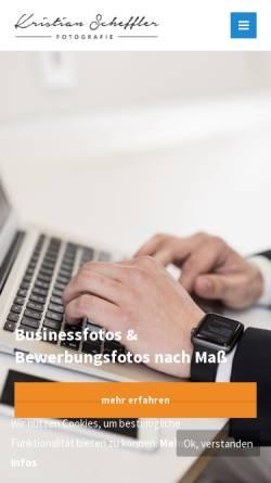 Vorschau der mobilen Webseite www.scheffler-fotografie.de, Scheffler Fotografie Businessfotograf