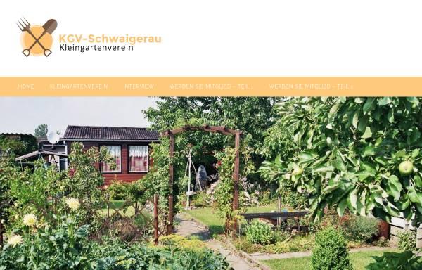 Vorschau von www.kgv-schwaigerau.de, Kleingartenverein Schwaigerau e.V.
