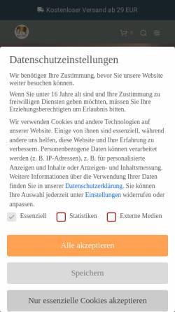 Vorschau der mobilen Webseite www.naturfroh.com, Naturfroh UG (haftungsbeschränkt)