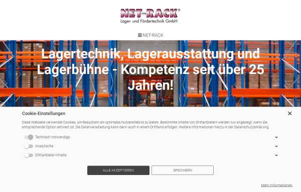 Vorschau von www.net-rack.de, NET-RACK Lager- und Fördertechnik GmbH