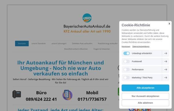 Vorschau von www.bayerischerautoankauf.de, BayerischerAutoAnkauf
