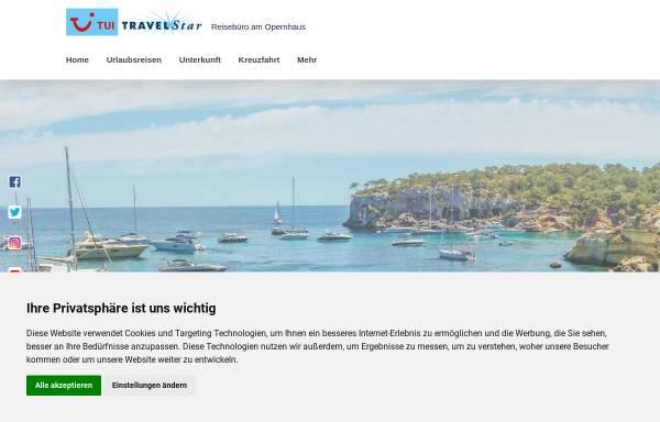 Vorschau von reisebuero-am-opernhaus.de, TUI TRAVELStar