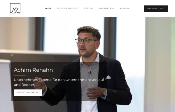 Vorschau von achim-rehahn.com, Achim Rehahn